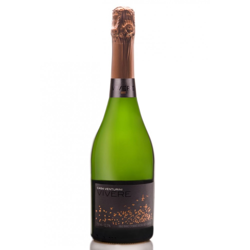 Espumante Natural Brut Vívere 750ml