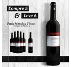 Messias Tinto Pack compre 5 leve 6