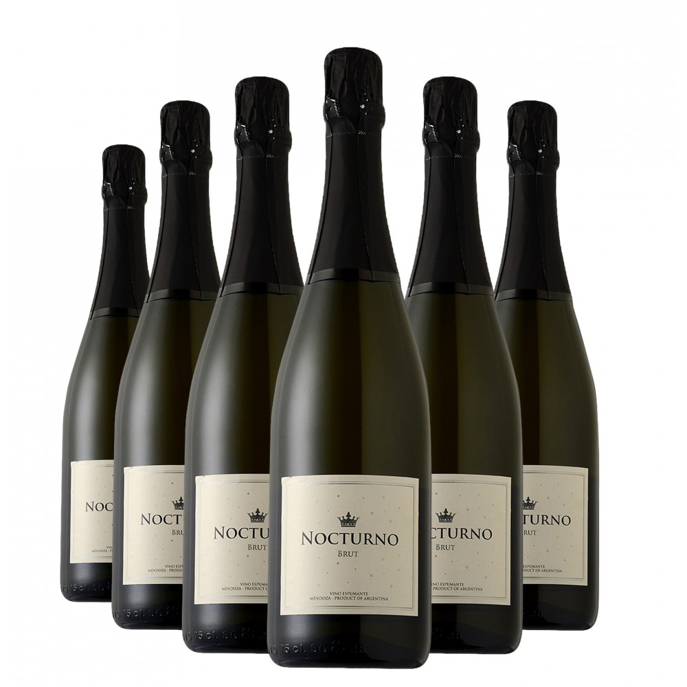 Pack Espumante Nocturno Brut 750ml