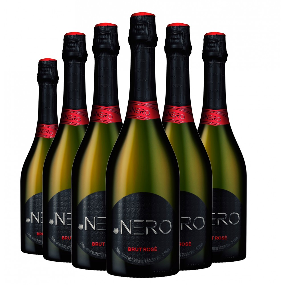 Pack Espumante Ponto Nero Cult Brut Rosé 750ml