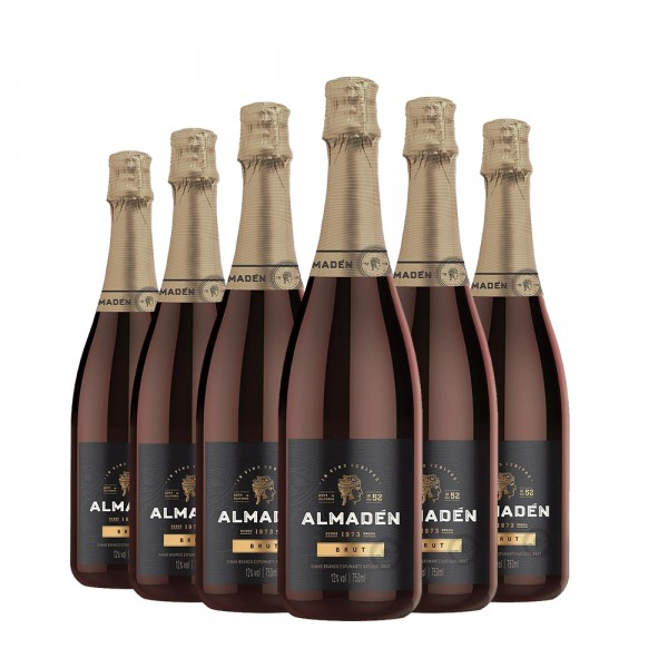 Pack Espumante Almadén Brut 750ml