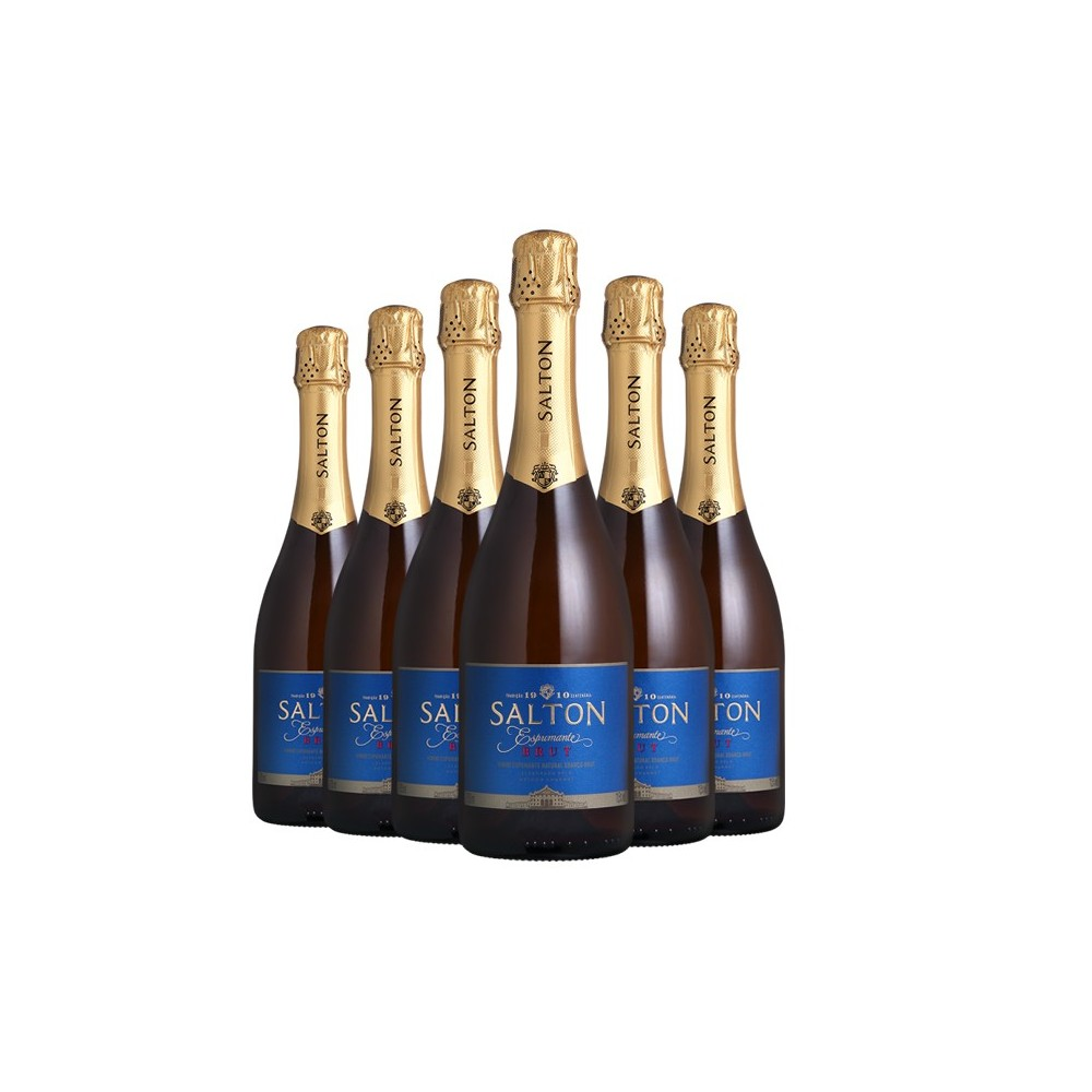 Pack Espumante Salton Brut 750ml
