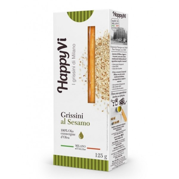 Happy Vi Grissini sabor Gergelim 125g