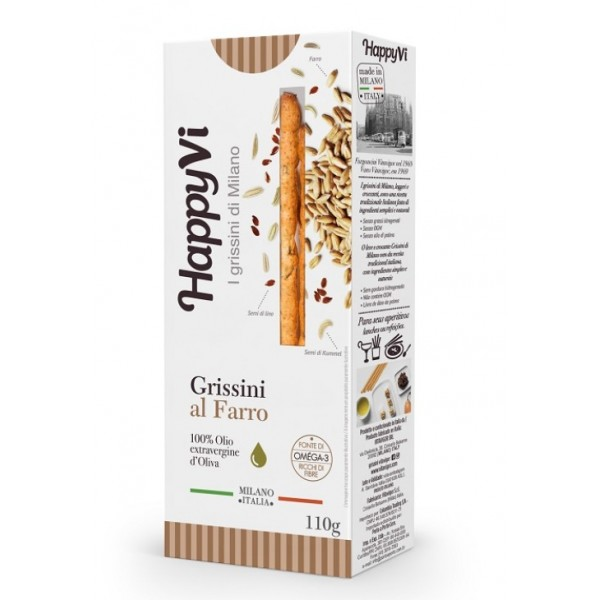 Happy Vi Grissini al Farro 110g