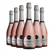 Pack Espumante Ponto Nero Celebration Moscatel Rosé 750ml
