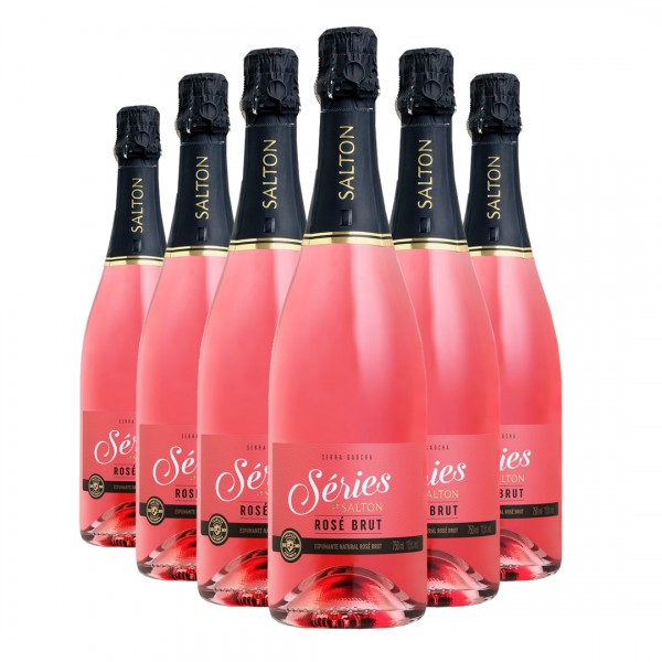 Pack Espumante Séries by Salton Brut Rosé 750ml
