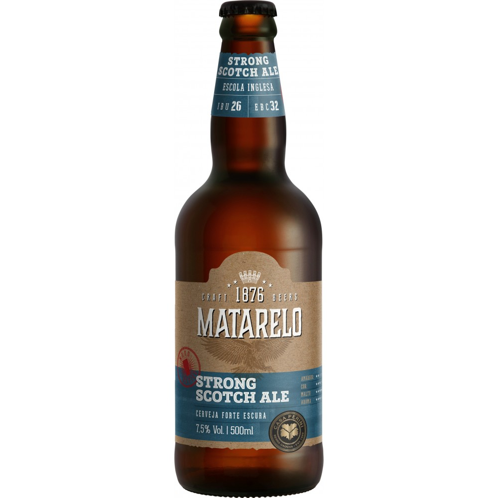Cerveja Matarelo Strong Scotch Ale 500ml