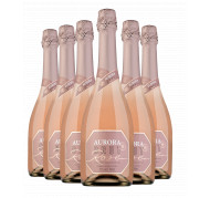 Pack Espumante Aurora Brut Rosé 750ml