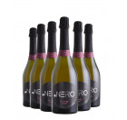 Pack Espumante Ponto Nero Cult SO2 Free Rosé 750ml